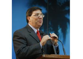 Bruno Rodríguez Ministro Cuba