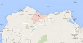 Mapa Consulado Cuba Antigua y Barbuda