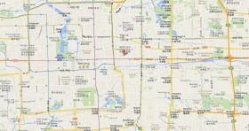 Mapa Consulado Cuba Beijing China