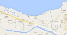 Mapa Consulado Cuba Belice