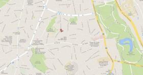 Mapa Consulado Cuba Bruselas