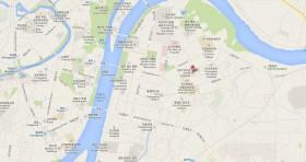 Mapa Consulado Cuba Corea del Norte