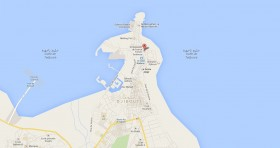 Mapa Consulado Cuba Djibuti