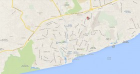 Mapa Consulado Cuba Ghana