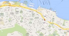Mapa Consulado Cuba Hong Kong China