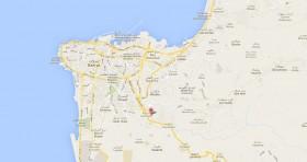 Mapa Consulado Cuba Líbano