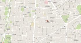 Mapa Consulado Cuba Madrid España