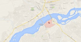 Mapa Consulado Cuba Mali