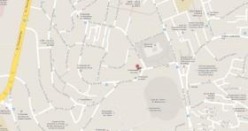 Mapa Consulado Cuba Portugal