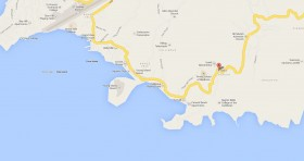 Mapa Consulado Cuba SAN VICENTE Y LAS GRANADINAS