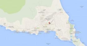 Mapa Consulado Cuba Saint Kitts y Saint Nevis