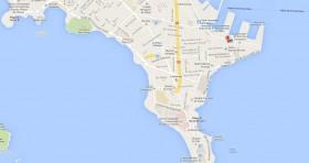 Mapa Consulado Cuba Senegal