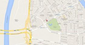 Mapa Consulado Cuba Sevilla España