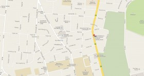 Mapa Consulado Cuba Zimbabwe